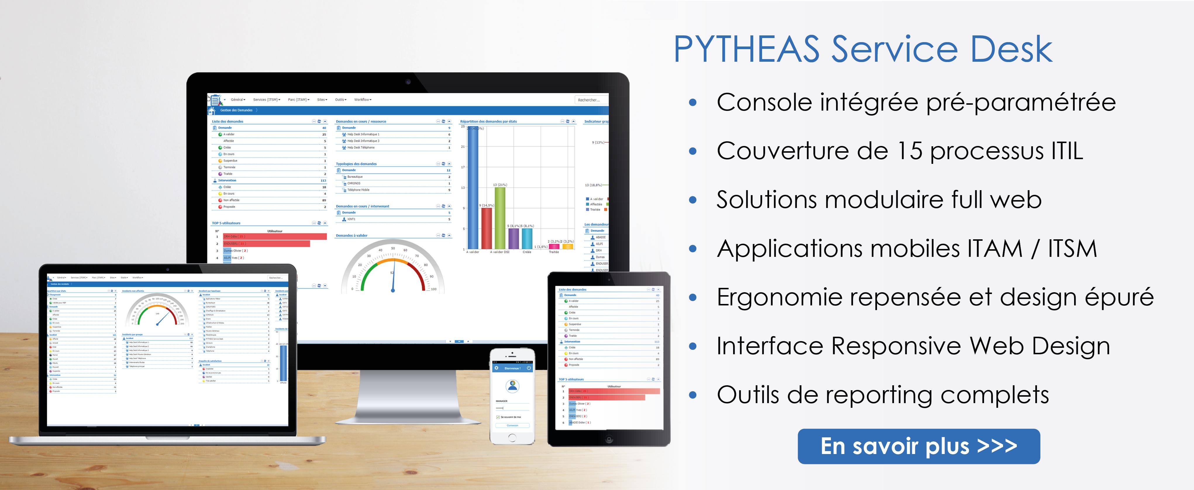 PYTHEAS Service Desk